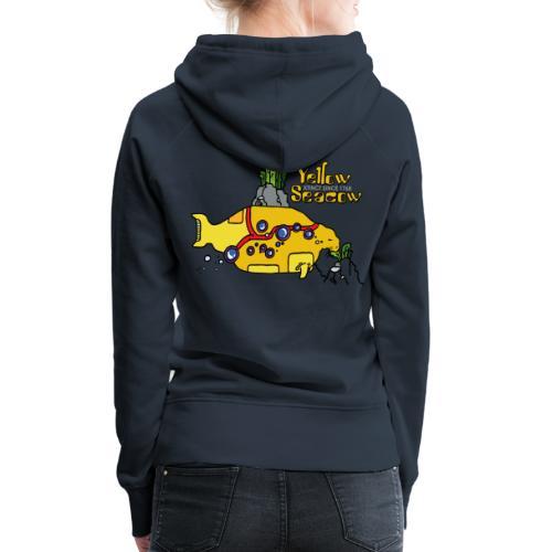 Friedem. Zschiedrich Yellow Seacow - Frauen Premium Hoodie