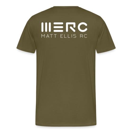MERC - Tee _ Khaki - Men's Premium T-Shirt