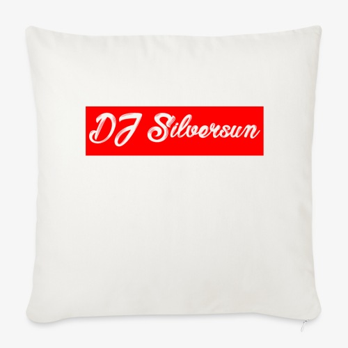 DJ Silversun Box Logo Kissen - Sofa pillow cover 44 x 44 cm