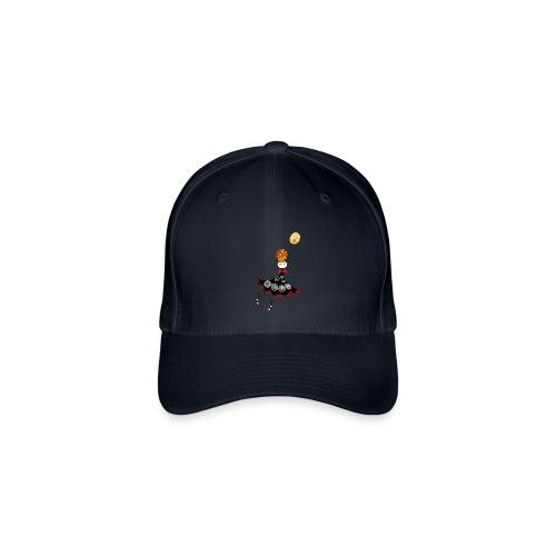 Cappellino in movimento  - Cappello con visiera Flexfit
