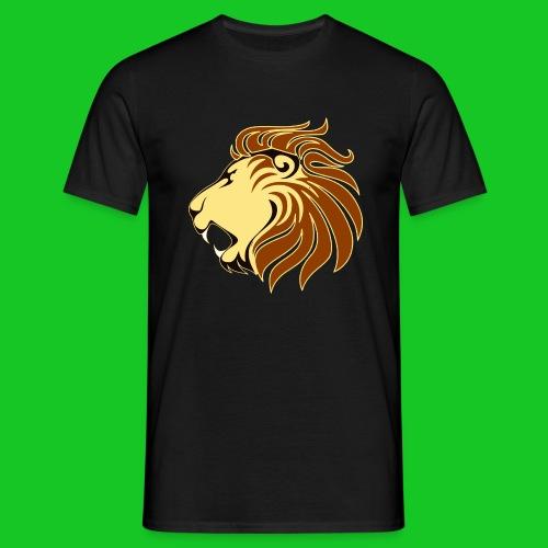 Leeuw profiel heren t-shirt - Mannen T-shirt