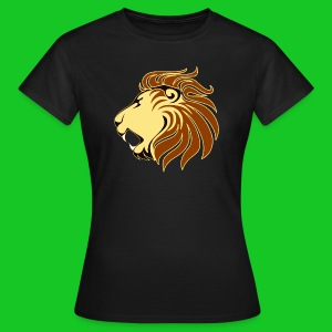 Leeuw profiel dames t-shirt - Vrouwen T-shirt