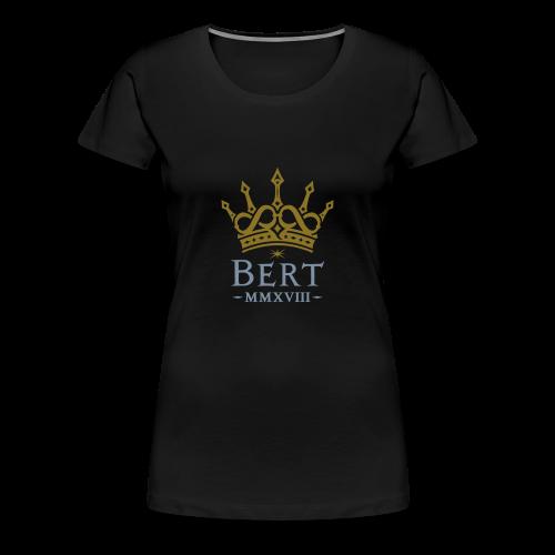 QueenBert 2018-Gold/Silver - Women's Premium T-Shirt