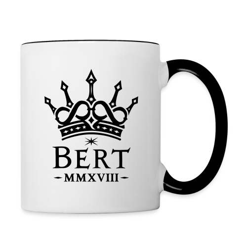QueenBert 2018-Black - Contrasting Mug
