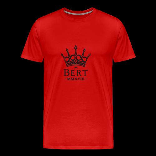 QueenBert 2018-Black Glitter - Men's Premium T-Shirt