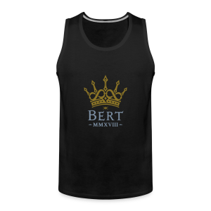 QueenBert 2018-Gold/Silver - Men's Premium Tank Top