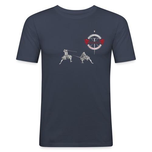 Turnieres-Shirt-Meyerklasse 2018 - Männer Slim Fit T-Shirt