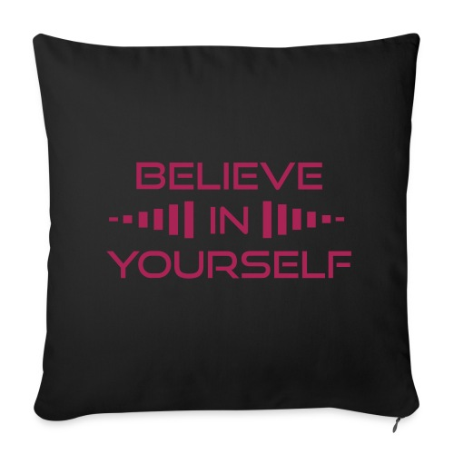 Believe in Yourself Sofa Pillow Cover  - Sofa pillow cover 44 x 44 cm