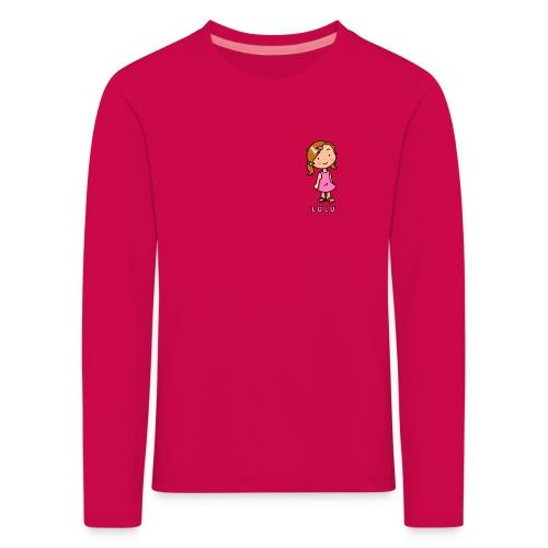 Lulu & Leon - Family and Fun - Premium Langarm-Shirt - Herzlogo - Lulu - Kinder Premium Langarmshirt