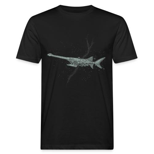 Sven Palmowski Lost in Space - Männer Bio-T-Shirt