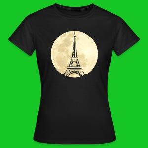 Parijs bij nacht dames t-shirt - Vrouwen T-shirt