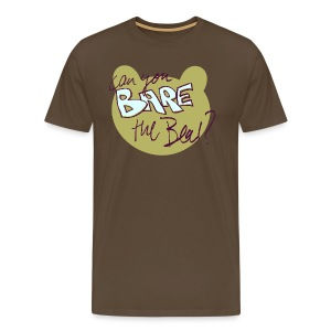 can you bare the bear? - Men's Premium T-Shirt