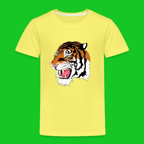 Tijger profiel kinder t-shirt - Kinderen Premium T-shirt