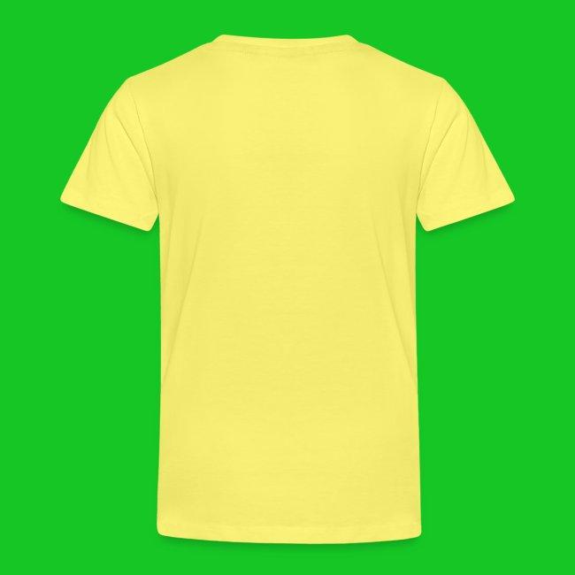Tijger profiel kinder t-shirt