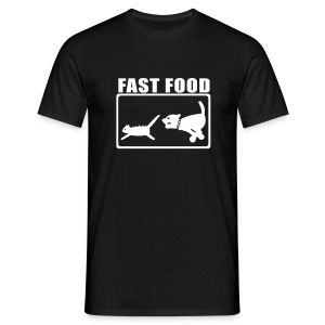 Fast Food Graphic T-shirt - Men's T-Shirt