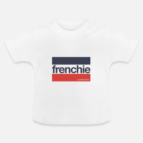 Frenchie Stripes - Baby T-Shirt