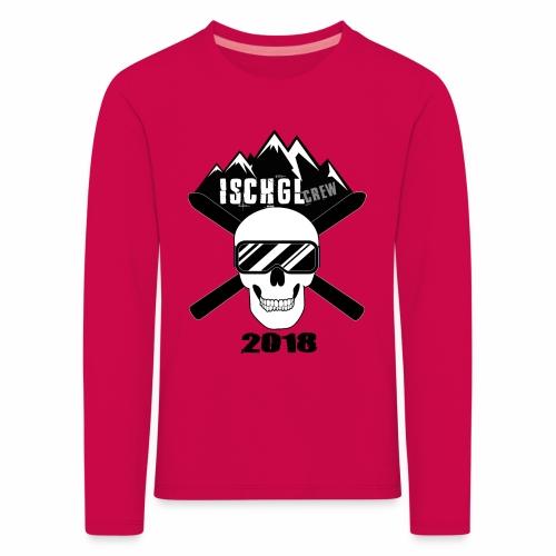 ISchg Crew 2018 Kinder - Kinder Premium Langarmshirt