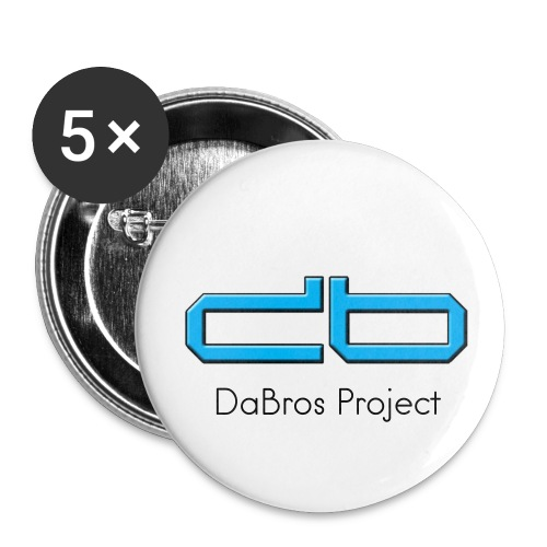 DaBros PIN - Buttons klein 25 mm