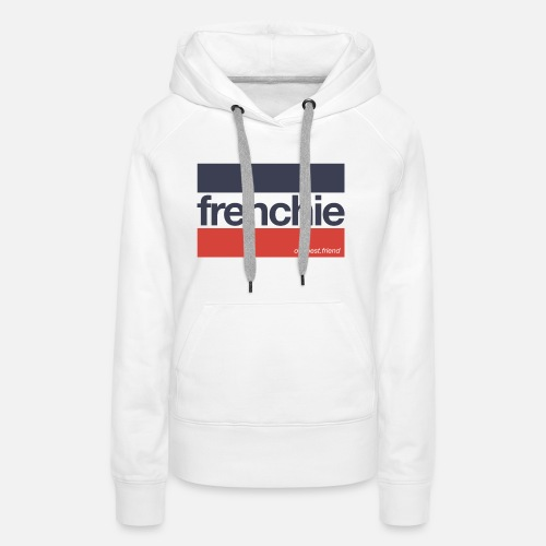 Frenchie Stripes - Frauen Premium Hoodie