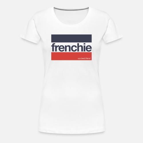 Frenchie Stripes - Frauen Premium T-Shirt - Frauen Premium T-Shirt