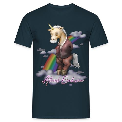 Albert Einhorn - Männer T-Shirt