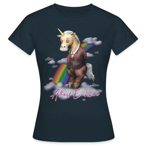 Albert Einhorn (girl) - Frauen T-Shirt