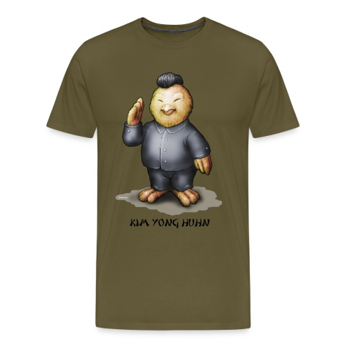 Kim Yong Huhn - Männer Premium T-Shirt