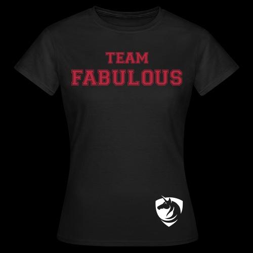 Basic Team Shirt Woman - Frauen T-Shirt