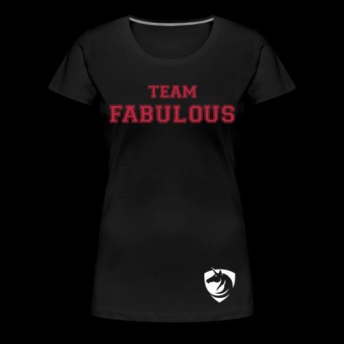 Premium Team Shirt Woman - Frauen Premium T-Shirt
