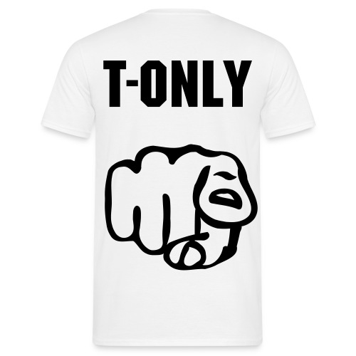 T-Only shirt - Mannen T-shirt