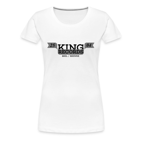 T-Shirt - Logo Promo (Weiss) - Frauen Premium T-Shirt