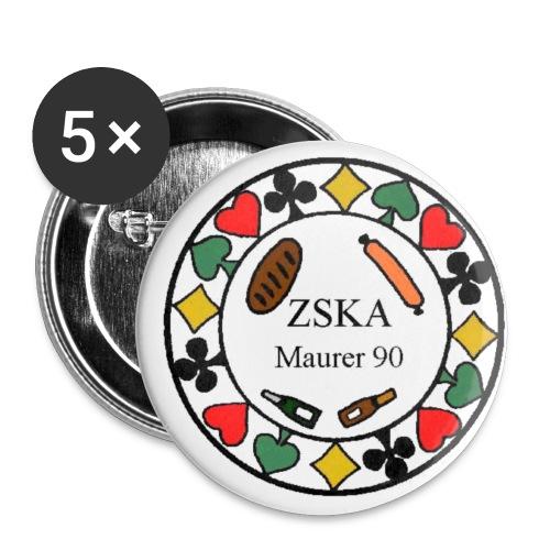 Button klein - Buttons klein 25 mm
