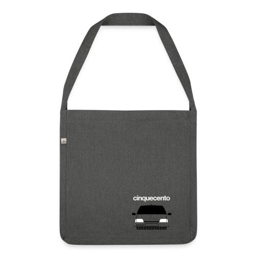 Shoulder Bag (recycled material) - Cinquecento Sporting Duotone - Shoulder Bag made from recycled material