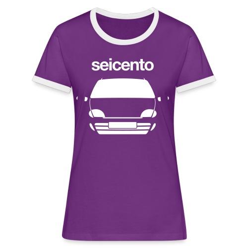 Women's Ringer T-Shirt - Seicento Sporting monotone - Women's Ringer T-Shirt
