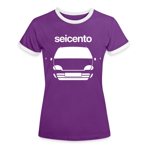 Women's Ringer T-Shirt - Seicento Sporting monotone - Women's Ringer T-Shirt