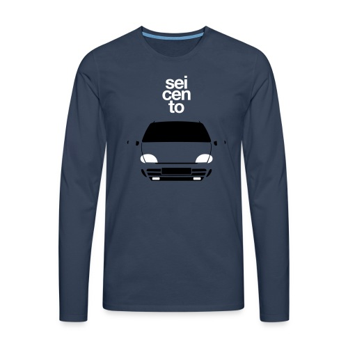 Men's Premium Longsleeve Shirt - Seicento Sporting duotone - Men's Premium Longsleeve Shirt