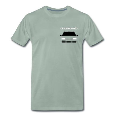 Men's Premium T-Shirt - Cinquecento Sporting duotone - Men's Premium T-Shirt