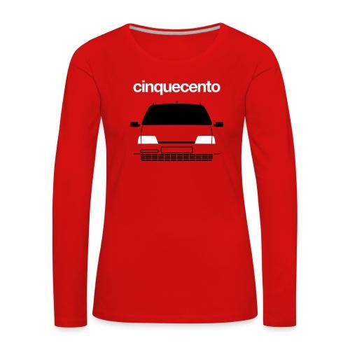 Women's Premium Longsleeve Shirt - Cinquecento Sporting duotone - Women's Premium Longsleeve Shirt