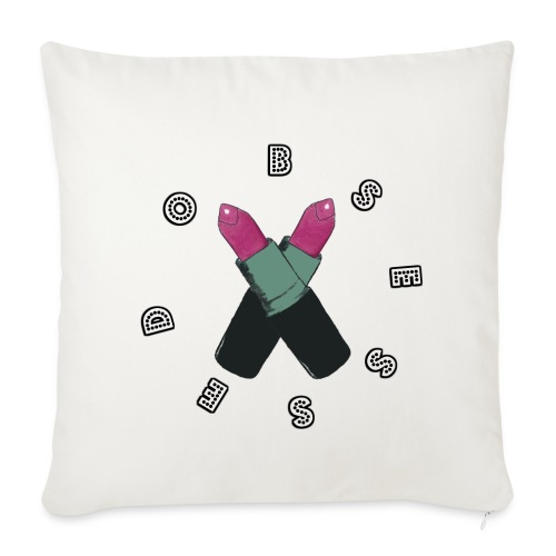 Obsessed Pillow Case - Sofa pillow cover 44 x 44 cm