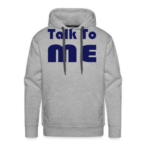 talktome - Mannen Premium hoodie