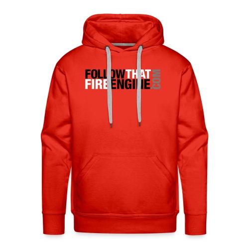 FTFE Red Hoodie - Men's Premium Hoodie
