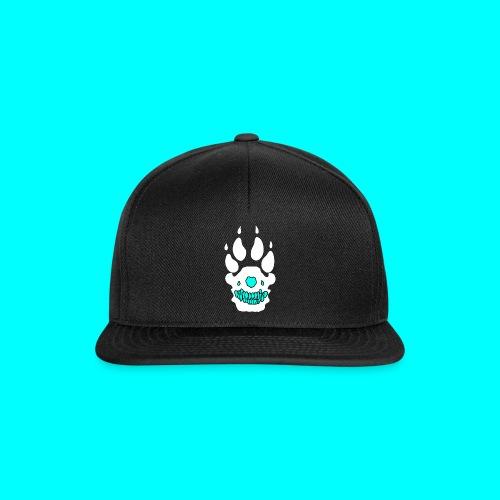 Snapback Cap (valkoinen/musta logo) - Snapback Cap