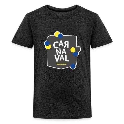 Vintage zwart Dringersgat kind - Teenager Premium T-shirt