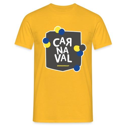 Geel Dringersgat shirt man - Mannen T-shirt