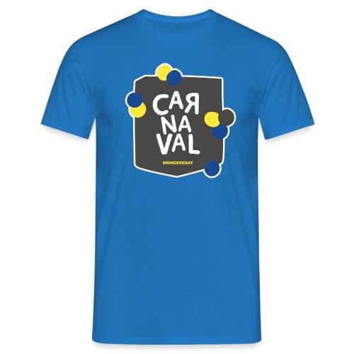 Blauw Dringersgat shirt man - Mannen T-shirt