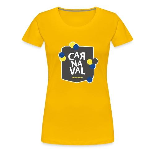 Geel Dringersgat shirt Vrouw - Vrouwen Premium T-shirt