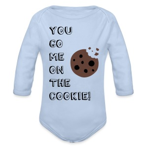 You go me on the Cookie! - Baby Bio-Langarm-Body