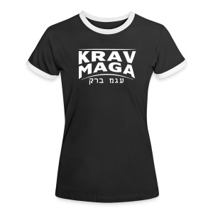 Ladies - Krav Maga Shirt - Frauen Kontrast-T-Shirt