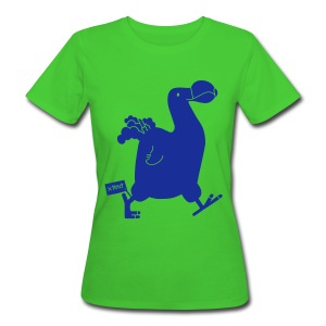 Beatrice Barth Dodo Earth Positive Shirt - Frauen Bio-T-Shirt