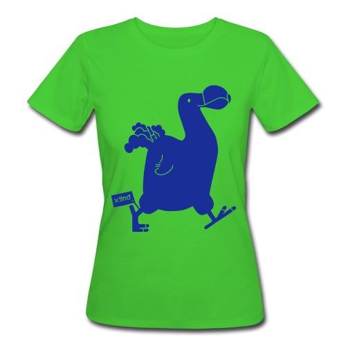 Beatrice Barth Dodo Earth Positive Shirt - Frauen Bio-T-Shirt
